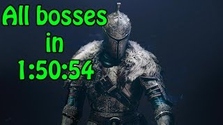 Dark Souls 2 Speedrun - All bosses 1:50:54