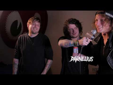 Asking Alexandria's lead guitarist Ben Bruce Cracking Jokes Backstage