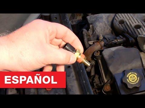 Reemplazo del sensor de temperatura del refrigerante - Dodge, Chrysler, Plymouth 2.7L
