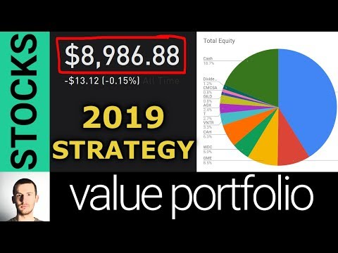My Public Value Stock Portfolio & 2019 Investing Strategy
