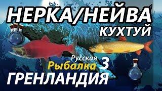Нерка Нейва Поморник Кухтуй  / РР3 [Русская Рыбалка 3 Гренландия]