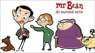 Mr Bean the car racing animations series