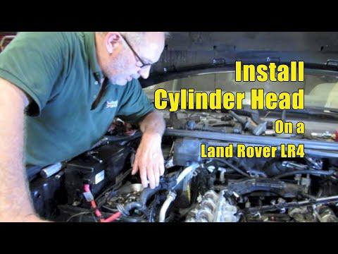 Atlantic British Presents: Install Cylinder Head on Land Rover LR4