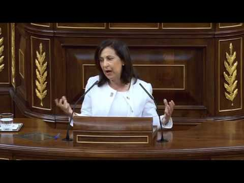 MARGARITA ROBLES (PSOE) - Discurso pleno INDEPENDENCIA de CATALUÑA (11/10/2017)