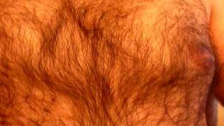 hairy chest on a sexy man