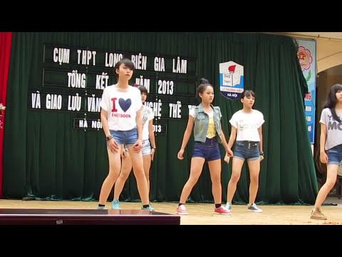 TK-Chia sẻ Video Lovey dovey THPT Dương  Xá - Nhảy quá đẹp
