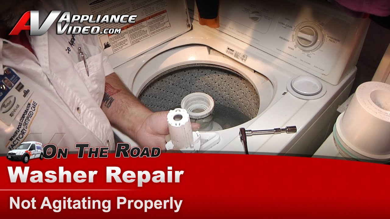 Washer Repair Not Agitating Kenmore Whirlpool Maytag