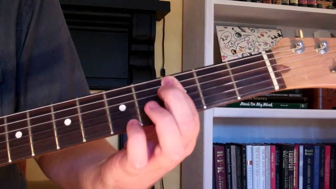 How To Play The D75 Chord On Guitar D 7th Augmented 5th Youtube