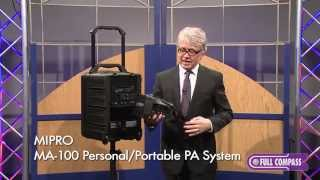 MiPro MA-708 & MA-100 Portable PA Systems Overview | Full Compass