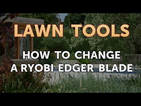 How to Change a Ryobi Edger Blade