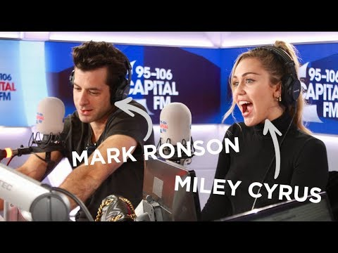 Miley Cyrus And Mark Ronson's Chat Death Drops, G-A-Y & 'NBLAH' 💔 | FULL INTERVIEW