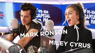 Miley Cyrus And Mark Ronson&#39s Chat Death Drops, G-A-Y &amp &#39NBLAH&#39 FULL INTERVI ...