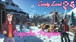 Lets Build: Cupcake Kingdom! Candy Land 24 #PlanetCoaster