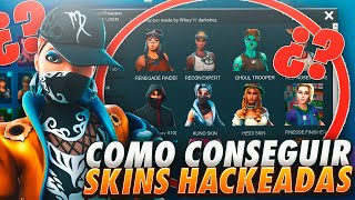 How TO GET ALL Fortnite HACKED SKINS FOR FREE