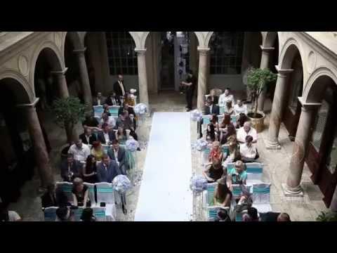 Стильная Французская свадьба в голубом цвете