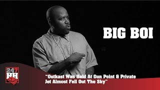 Big Boi - Outkast Was Held At Gun Point, Private Jet Almost Fell Out The Sky (247HH Archives)