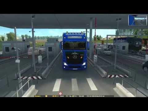 Vive la France! DLC (Euro Truck Simulator 2) Lille-Rennes