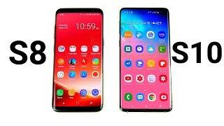 Galaxy S8 vs Galaxy S10!