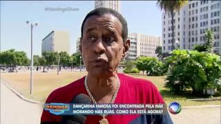 Musa do Carnaval vai morar nas ruas por causa das drogas