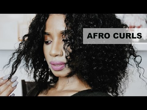 Natural Afro Curls | How I do my Routine | Nerissa Farrell