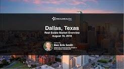 Dallas Real Estate Market Update [August 2018]