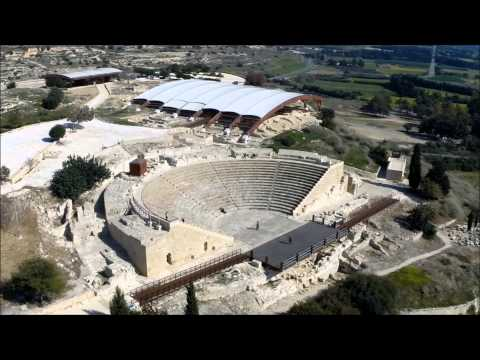The Ancient City-Kingdom Of Kourion In Cyprus