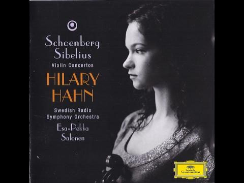 Schoenberg Violin Concerto Op. 36 Hahn