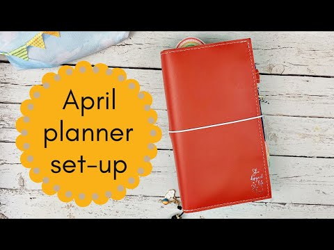 April 2020 Planner Set-up: How I Am Planning During The COVID-19 Pandemic #CocoaDaisy #PlannerSetUp