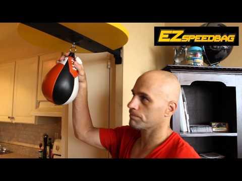 Beginner Boxing - Speed Bag Tutorial with the EZ Speedbag ...