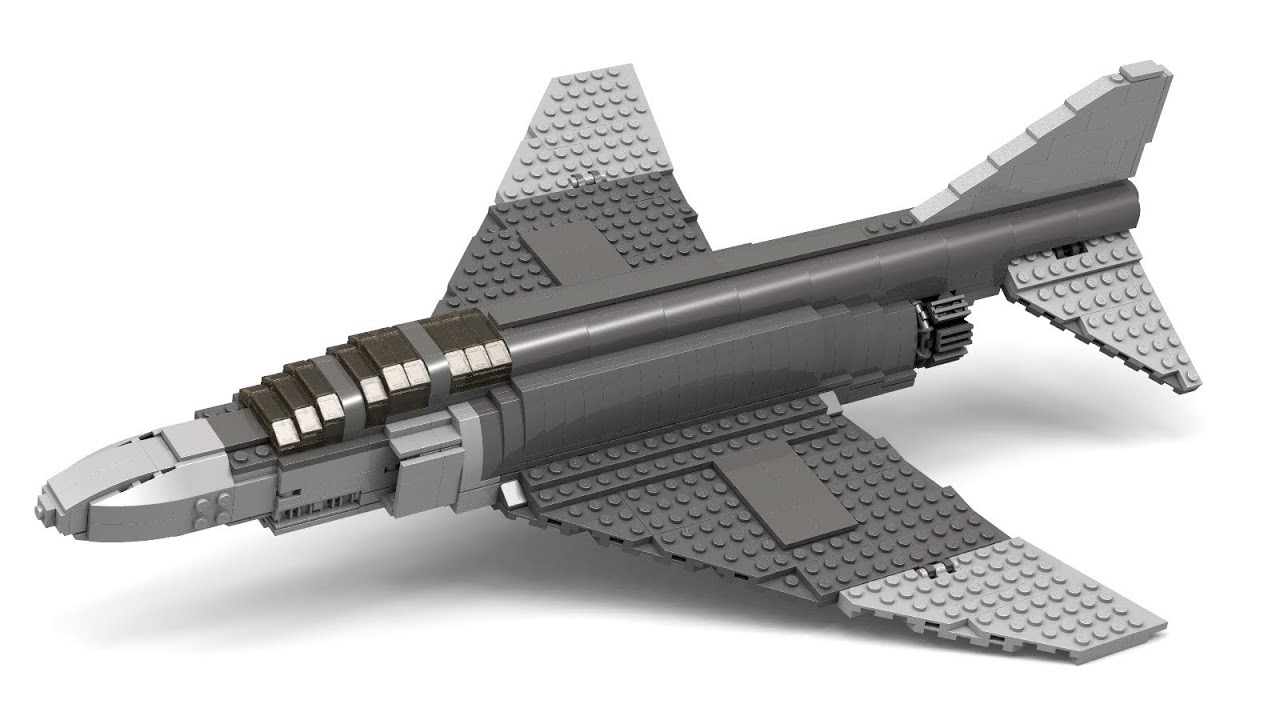 Lego F 4 Phantom  Version 2  Instructions   YouTube