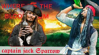 Captain Jack Sparrow johnny Depp | where is the bloody rum