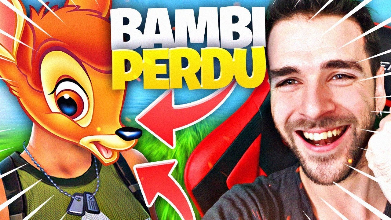 CE SKIN BAMBI ME SURPREND ! ► Game Chill FORTNITE BATTLE ROYALE
