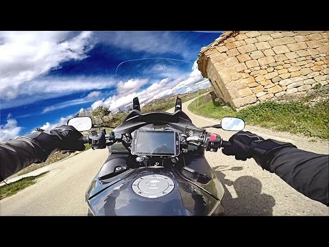 OnBoard - Honda NT 700 V Deauville - 1 - HD 60fps HQ audio