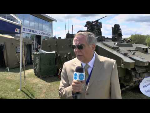 Defence Vehicle Dynamics 2014 - update on the Scout SV programme for the British Army