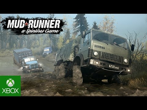 Spintires: MudRunner - Gameplay Trailer