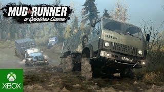 Spintires MudRunner Gameplay Trailer