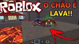 ROBLOX-THE FLOOR IS LAVA IN NINJA ASSASSIN!!! WITH JEFFBLOX!!