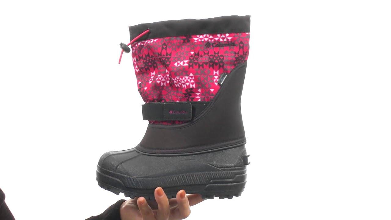 21476ed5518b Columbia Kids Powderbug™ Plus II Print Boot (Toddler Little Kid Big Kid )SKU 8533986