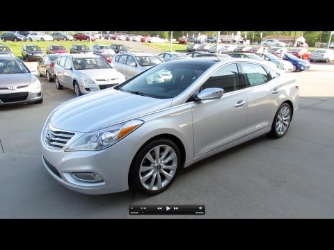 2012 Hyundai Azera (Technology Group) Start Up, Exhaust, and In Depth Review