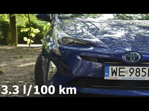 Toyota Prius, fuel consumption: 3.3 l/100 km in the city - trip (spalanie w mieście) :: [1001cars]