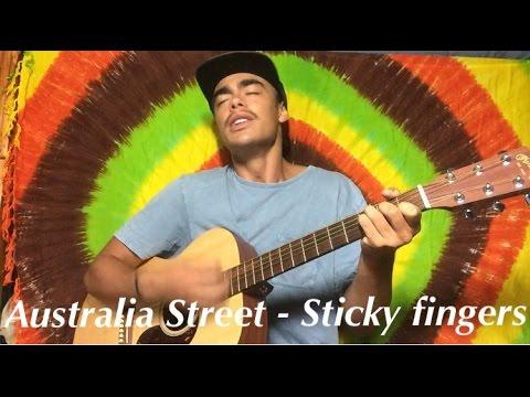 Australia Street - Sticky Fingers cover