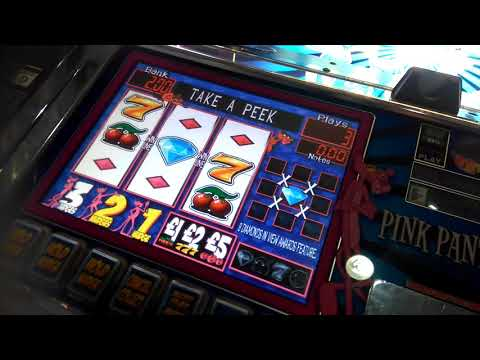 PINK PANTHER ARENA SHOCKING FEATURE FRUIT MACHINE WSM PIER 2018