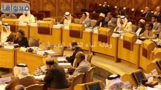 بالفيديو :مراسم حلف اليمين لأعضاء البرلمان العربي الجدد بداخل جامعة الدول العربيه