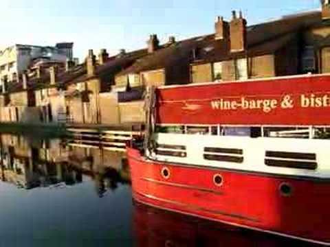 Grand Canal Barge, Dublin