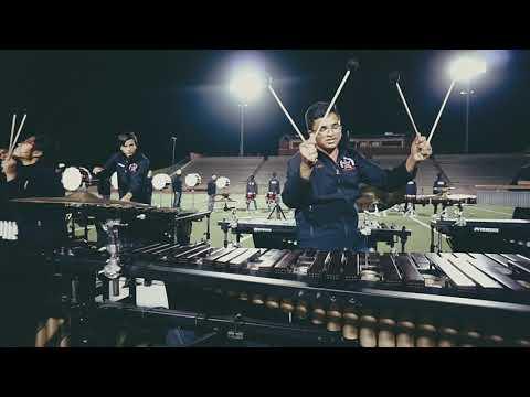 Coppell High School 2018 Drum Line Show - Toska