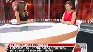 AÇÃO 1: comentários de Fernanda Pargana (TVI24)