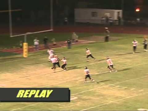 Chaotic Ending In 2009 SP vs. Palos Verdes Footbal...