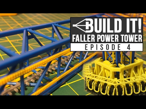 HTR Build It! Faller Power Tower | Episode 4 | Tower lights and vertical assembly