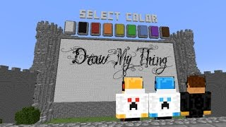 MINECRAFT | Draw My Thing | Fat Pumpkin