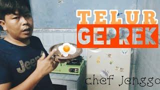 Resep Telur Geprek ala Chef Jenggo